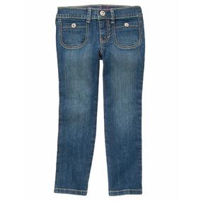Gymboree Pantalon De Mezclilla Para Niña, Talla 6x