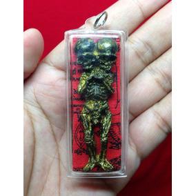 Monstruo Momificado De 2 Cabezas Amuleto Talisman