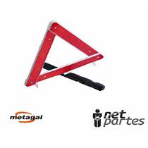 Triangulo Automotivo Com Base Pesada Segurança
