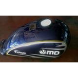 Tanque De Gasolina Moto Md Cóndor Azul Original- Años 2013