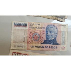 Coleccion De Billetes Antiguos. Incluido Billete De 1 Millon