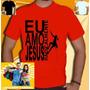 Camiseta Eu Amo Jesus Radicalmente Camisa Cristo Gospel Bh