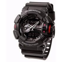 Relógio Casio G-shock Ga400 1b Original Pta Entrega Na Lata