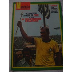Revista Manchete 1005 Pelé Sel Brasil Dener Louis Miss 1971