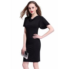 Vestido Elegante . Estilo Europeo - Moderno Y Simple