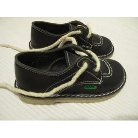 Zapatos, Tipo Kickers, Talle 25, Azul Oscuro, Poco Uso
