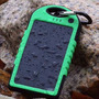 Carregador Solar A Prova D Água 5000mah Apple Iphone Samsung