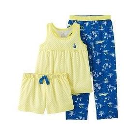 Carters Modelo Pijama 3 Piezas Para Niña 2 Años Z10