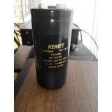 Condensador Kemet 10000 Uf 100 V 105°c Als40a Audio