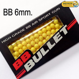 Balines Bbs 6 Mm Airsoft Co2 Amarillos Pack X 200 Unidades