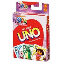 Juego Uno Mi Primera Uno - Dora La Exploradora