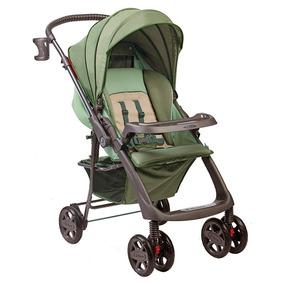 Carrinho De Bebê Hercules Verde Angra 5 Posições Até 15kg