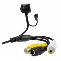 Micro Mini Camera Espiã Cftv 1200 Linhas Escondida Microfone