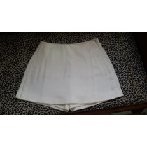 Short Saia Off White Acostamento