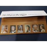 Gb * Timbres 60 Años De Retratos Reina Isabel Ii * Gb