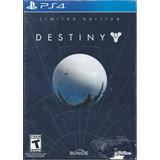 Destiny Ps4 *edición Limitada De Colección Nuevo Y Sellado