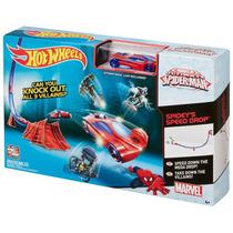 Hot Wheels Pista De Velocidade Do Spider-man - Cdj22 Mattel