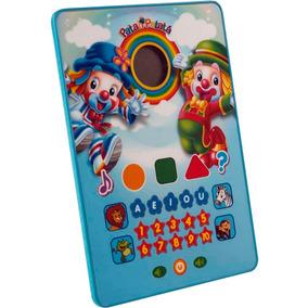 Tablet Patati Patatá Brinquedo Educativo Meninas E Meninos
