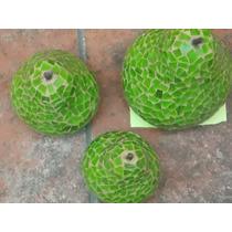 Juego De Peras De Vitromosaico Verdes