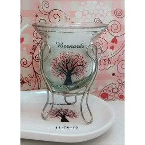 Souvenirs Mates De Vidrio Casamiento Personalizados Tazas
