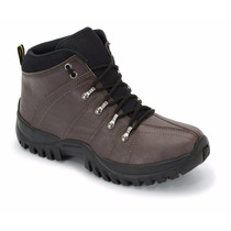 Bota Coturno Boots Adventure Sola De Borracha Khaata
