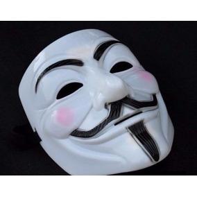 Máscara V De Vingança - Anonymous - Menor Preço 2,99