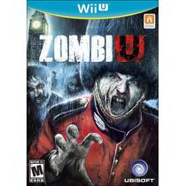 Zombi U Zumbi Nintendo Wii U Novo Original Lacrado
