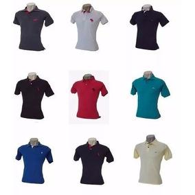Kit 10 Camisas Pollo Masculina + Kit 20 Bermudas Tactel