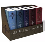 Game Of Thrones Juego De Tronos Box Set 5 Libros - En Inglés