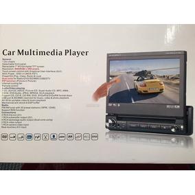 Equipo Multimedia Pantalla Motorizada Usb Dvd Tv Bluetooth