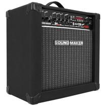 Caixa Amplificada Violão Sound Maker Cubo 30w Rms