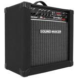 Caixa Amplificada Violao 30w Rms Reais Sound Maker
