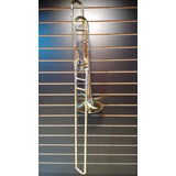 Trombone De Vara Tenor (bb / F), Laqueado - Stanford Ssl 700