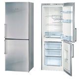 Heladera 2 Puertas Freezer Inferior Bosch Kgn33x71 Acero 250