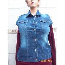 Chaleco De Jeans Elastizado Dama Talles 6-8-10-12 Oferta!!!
