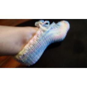 Meia Sapato Botinha Em Trico Feminino