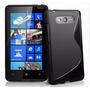 Capa Gel Tpu Anti Impacto Nokia Lumia 820 Pelicula Gratis