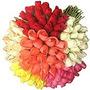 Brind 50 Rosas De Cores Variadas - Botões Artificial Flores