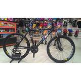 Bicicleta M7 Aro 26 - Aluminio - Freio A Disco