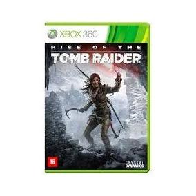 Jogo Rise Of The Tomb Raider Xbox 360 Português Midia Fisica