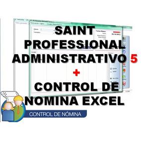 Saint Professional Administrativo + Control De Nomina Excel