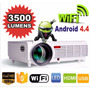 Proyector Led 3500w Smart Hdmi Tv Usb Android Wifi Miracast