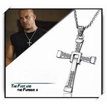 Colar Pingente Crucifixo Dominic Toretto - Veloses Furiosos