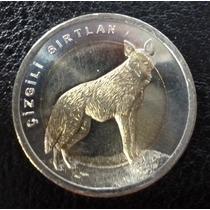 Turquía Moneda Bimetálica Lobo 1 Lira Turca 2014