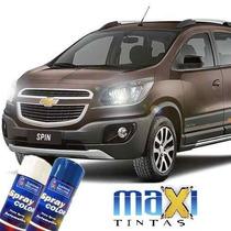 Tinta Spray Automotiva Gm Cinza Aztec + Verniz 300ml