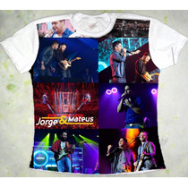 Camiseta Jorge E Mateus Baby Look