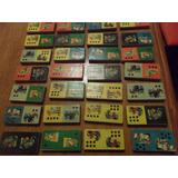 Antiguo Domino De Madera Figuras De Animales 28 Piezas