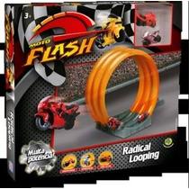 Pista De Motos Moto Flash Radical Looping Race Dtc Brinquedo