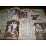 El Gráfico 2166 C- Oscar Cachin Diaz Campeon Argentino Box