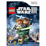 Lego Star Wars Iii The Clone Wars Wii Sellado Original